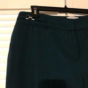 Green slacks